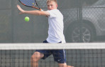 Menlo junior Andrei Volgin swept at No, 2 singles to lift the Knights.