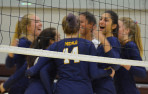 Menlo volleyball took sixth overall at the 32-team Spikefest