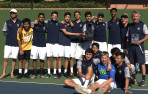 Menlo boys' tennis Central Coast Section champions 2018