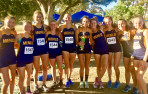 The Knights girls placed second among 24 teams at the Rough Rider Invitational in Fresno