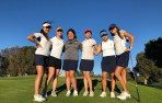 The Menlo girls' golf team posted a commanding WBAL victory Tuesday.