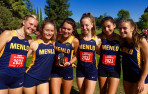 The Knights girls' team took second among 36 teams in the Small Schools Division at the Pacific Tiger Invitational