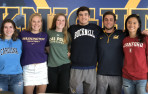 Several students signed national letters of intent on Wednesday, and expect more in the weeks to come.