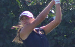 Menlo junior Gianna Inguagiato carded a 35 in a WBAL match in San Jose