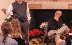 Vietnam war veteran, Ralph Temple, and David Bennett '68 speak about their experiences duri...