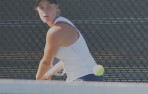 Taylor Gould defeated her Homestead opponent at No.2 in the CCS Round of 16