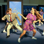 Menlo School students took the audience on a journey through Menlo School's past during a perform...