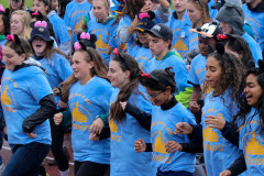 Menlo School students put on a parade during the Homecoming game. Photo by Pete Zivkov.