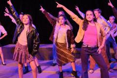 Menlo Middle School puts on a stage production of Disaster! The Musical. Photo by Cyrus Lowe.