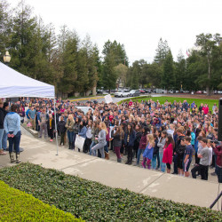 Menlo students participate in national walkout