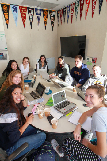 The College Counseling Office helps students chart their path beyond Menlo.