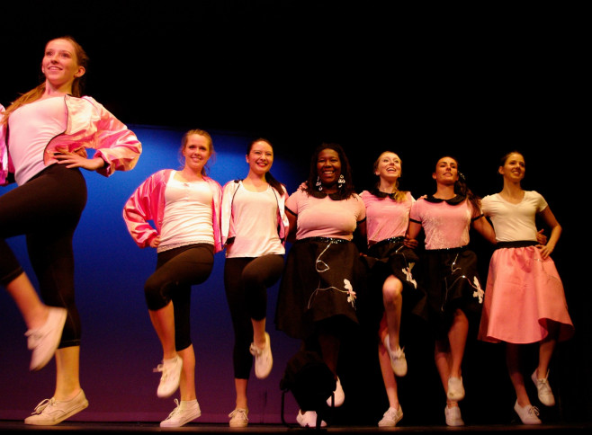 Menlo School students perform at the annual Dance Concert. Photo by Shane Barratt.