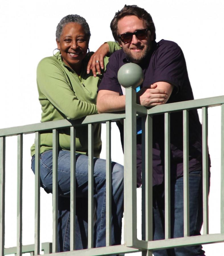 Middle School teachers Rosetta Saunders and David Mugglebee