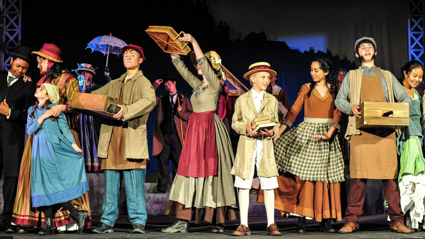 Menlo Middle and Upper School Drama present Oliver!