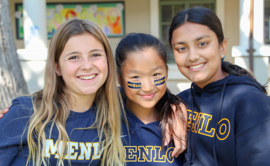 It's Spirit Week at Menlo Middle School! Photos by Maura Smith.